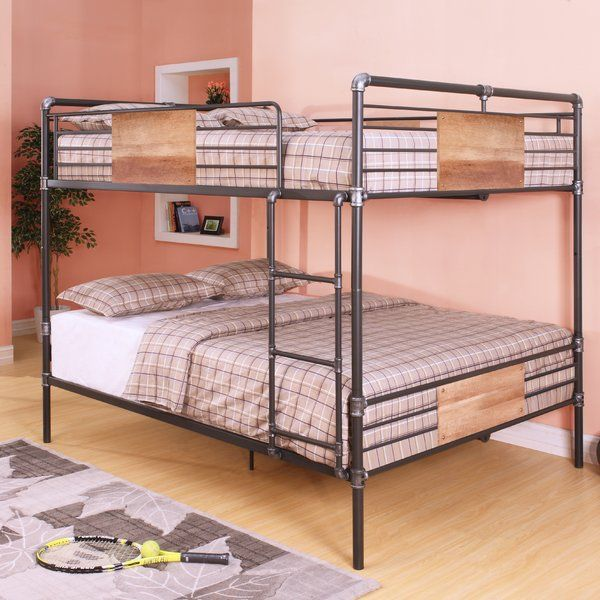 The Brantley Collection Features Queen Over Queen Bunk Bed With