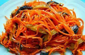 Bildergebnis für Баклажаны по-корейски с морковью