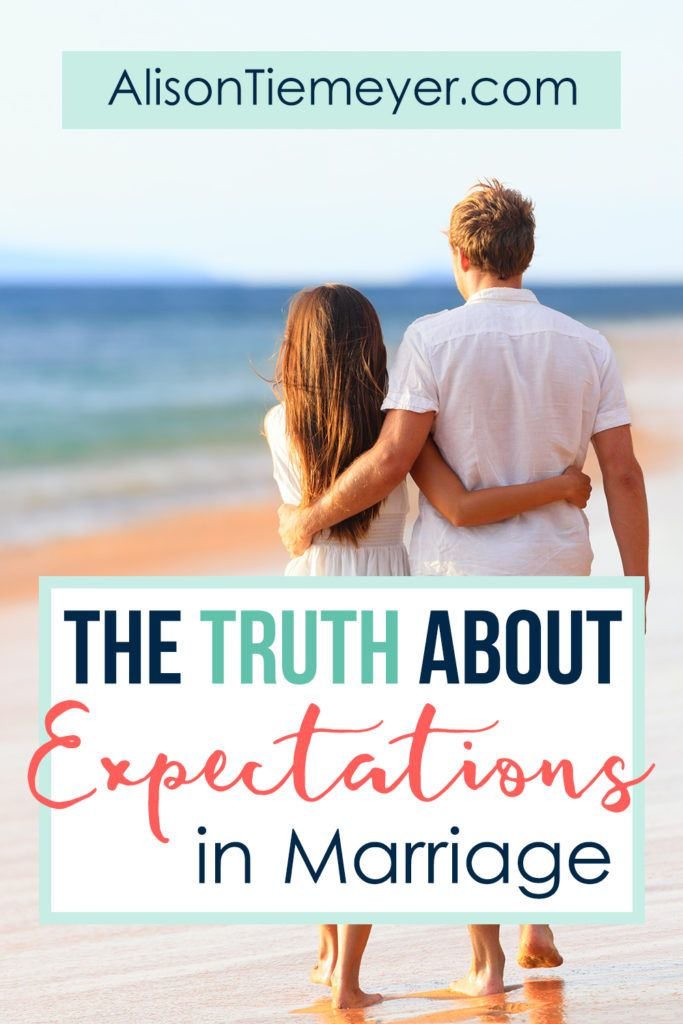 The Truth About Expectations in Marriage | AlisonTiemeyer.com