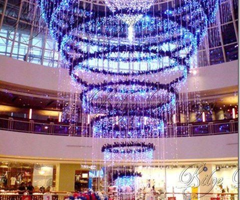 shoping mall, led, decoration,