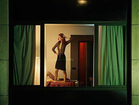 Voyeuristic Fashion Photography