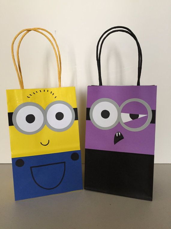 Throwing a Despicable Me theme for your next party? Use these handmade, DIY Despicable Me goodie bags for all your guests. Choose from the
