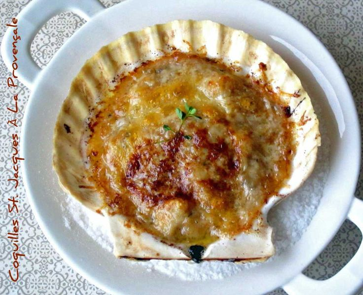 Julie Child's Recipe for Coquilles St. Jacques