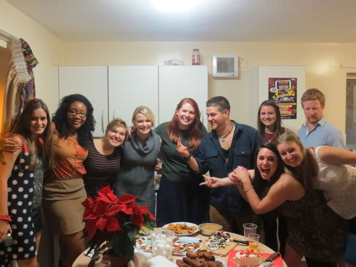 Flatmates on Thanksgiving