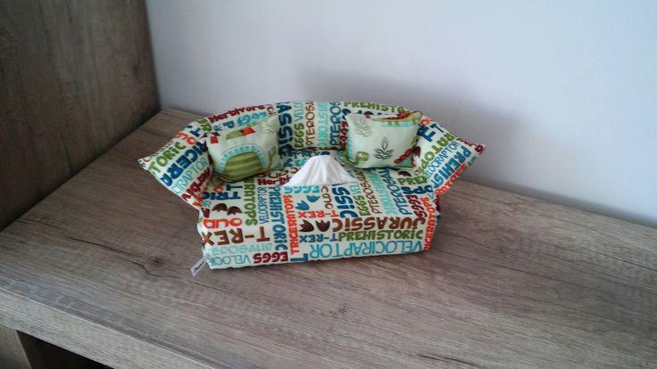 Napkin box dino