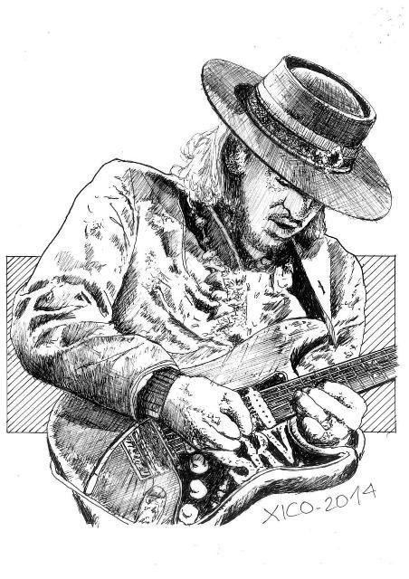 250 best blues art images on pinterest blues blues for Stevie ray vaughan tattoo