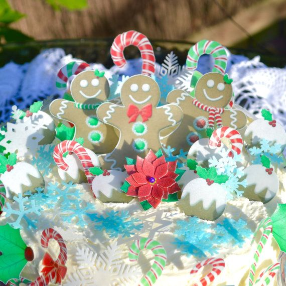 Edible Christmas Celebrations Holiday by WicksteadsEatMe on Etsy
