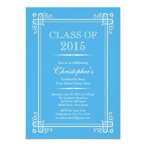 113 best elegant graduation invitations images – 2015 Graduation Party Invitations
