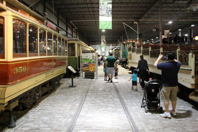 Tramways / Streetcars #exporail #trains #tramways #streetcars #musée #museum