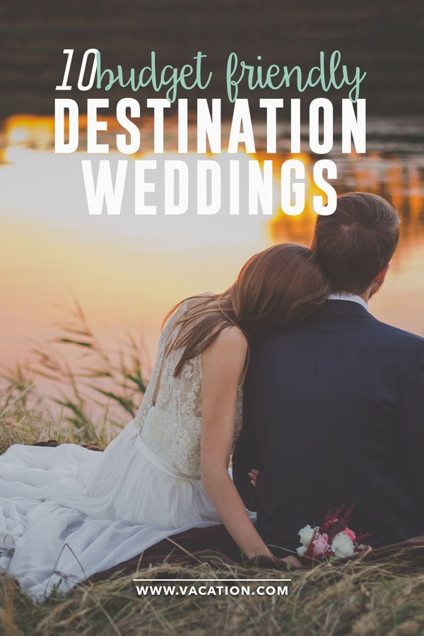 Top 10 affordable destination wedding locations