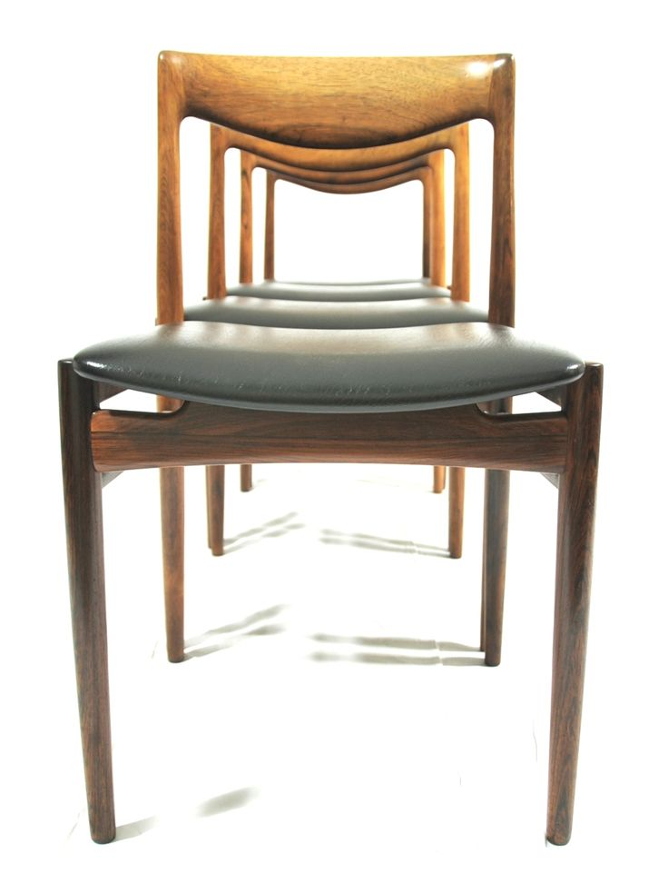 Rosewood chairs by Niels O. Möller (or based on his designs)