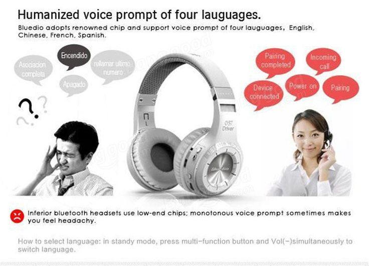 Bluedio HT Wireless Bluetooth 4.1 Stereo Headset Earphone Headphone