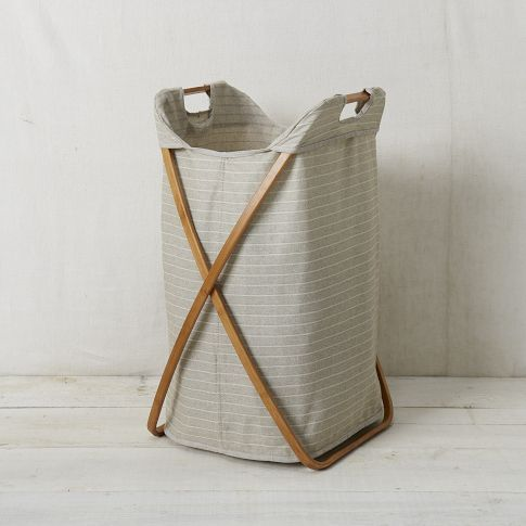 25 best ideas about laundry hamper on pinterest laundry basket bedroom hamper and wooden - Bamboo clothes hamper ...