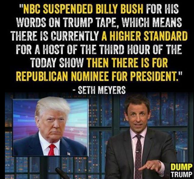 Low standards in the republican party...