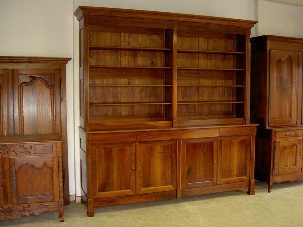 Tres Grande Bibliotheque Ancienne En 2 Corps Occasion Bibliotheque Ancienne Grande Bibliotheque Maison