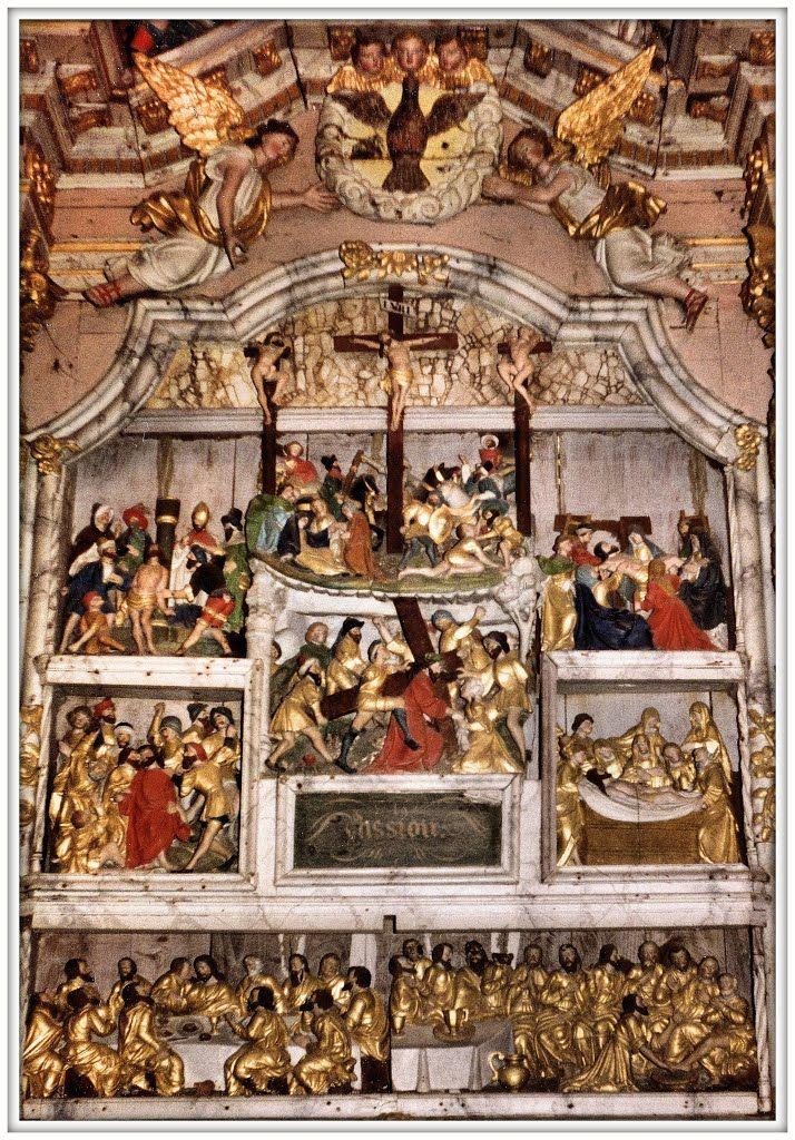 Guimiliau, Bretagna, Passione (XVI secolo).