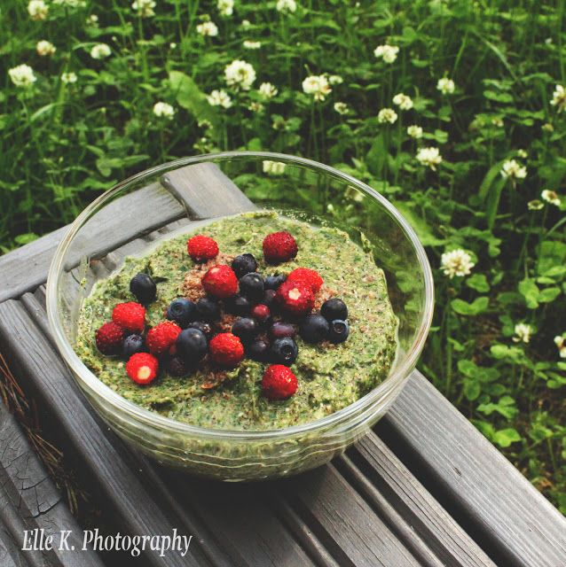 Greens and veggies make a nutritious and healthy boost, delicious combined with fruit in a green smoothie!