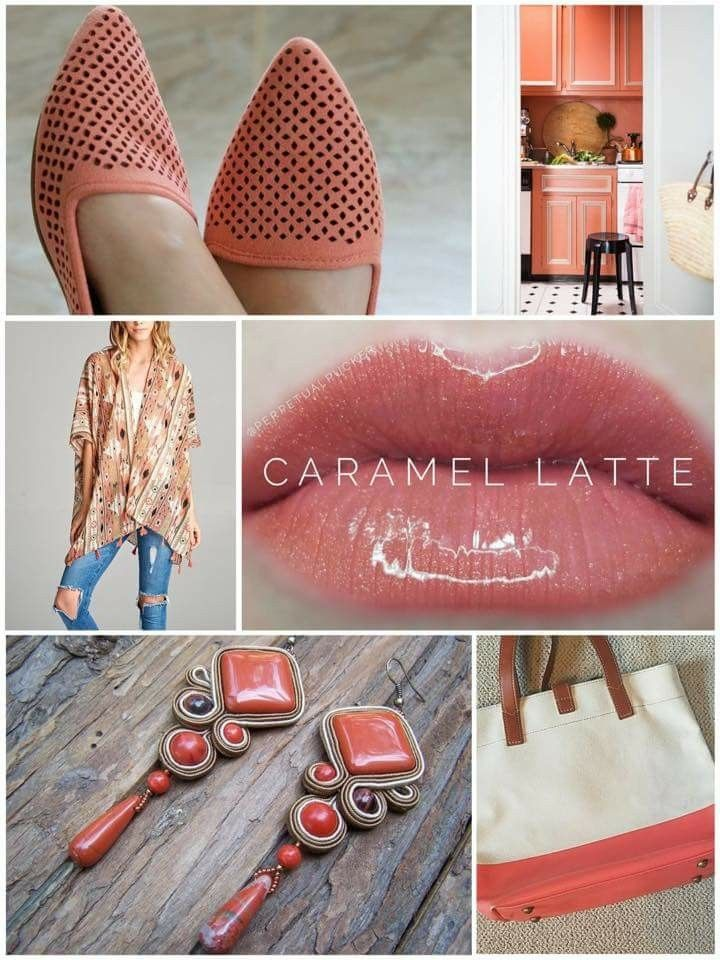 Caramel Latte LipSense. Warm, coral brown with a gold shimmer. Click to learn how to order! @charmcitylipswithjess SeneGence Independent Distributor #341275