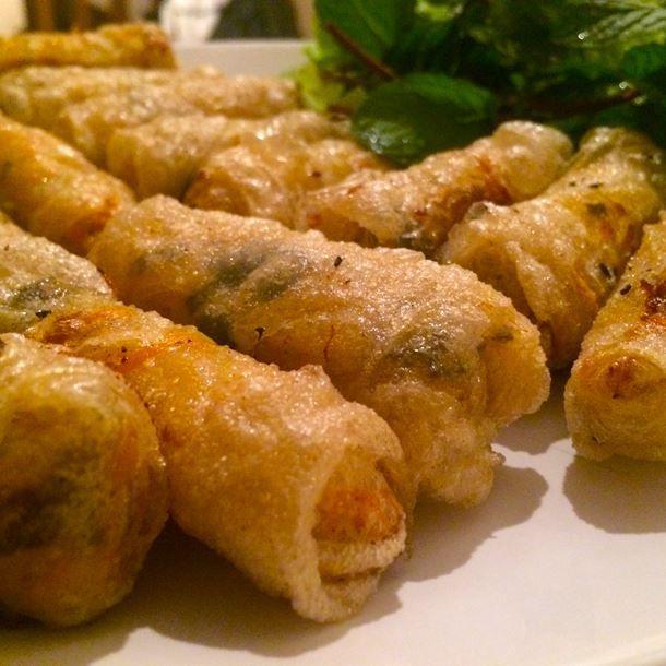 Nems vietnamiens porc crevettes et crabe