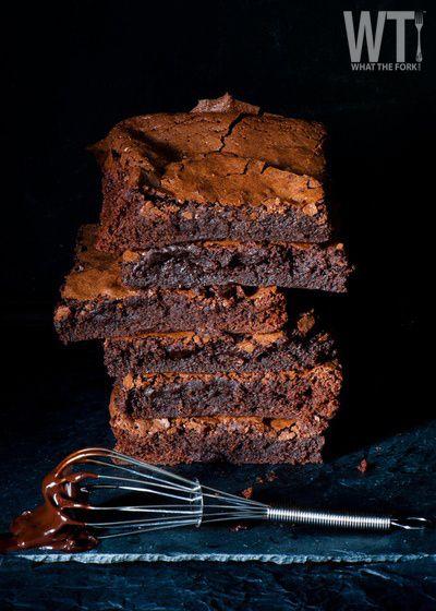 #Superbowl Brownies! at whatthefork.com