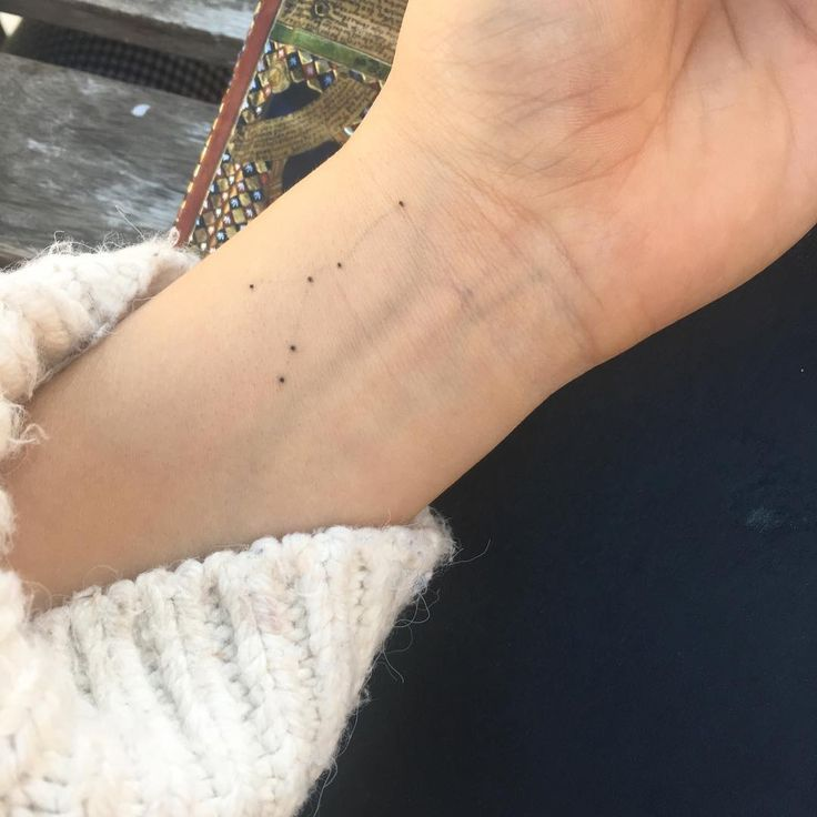 Got an Itsy bitsy cancer constellation tattoo for Tiare. i just got the little stars on my left inside wrist, the place where I write my notes and reminders, and can reconnect the stars with a pen everyday as a physical action to keep her in my thoughts everyday in a small way :-) miss u �