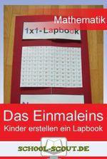 Einmaleins-Lapbook: Spielerisch und kreativ das Einmaleins lernen - hier gibt es sofort einsetzbare Vorlagen für den direkten Einsatz eines Lapbooks im Unterricht der Grundschule.