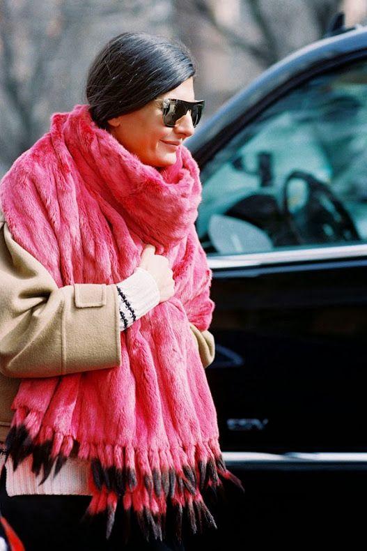 Ванесса Джекман: Нью-Йорк Неделя моды AW 2014 .... Джованна