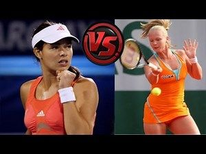 australian tennis open - Like Anna Ivanovich but...she got knocked out after beating Serena  2014
