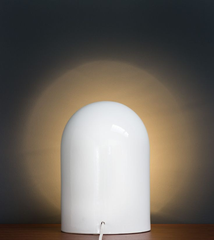 Marcello Cuneo for Gabbianelli Ceramic lamp | http://www.furniture-love.com/browse.php | From selection of important 20th century modern furniture. -- Great Christmas Holiday Gift