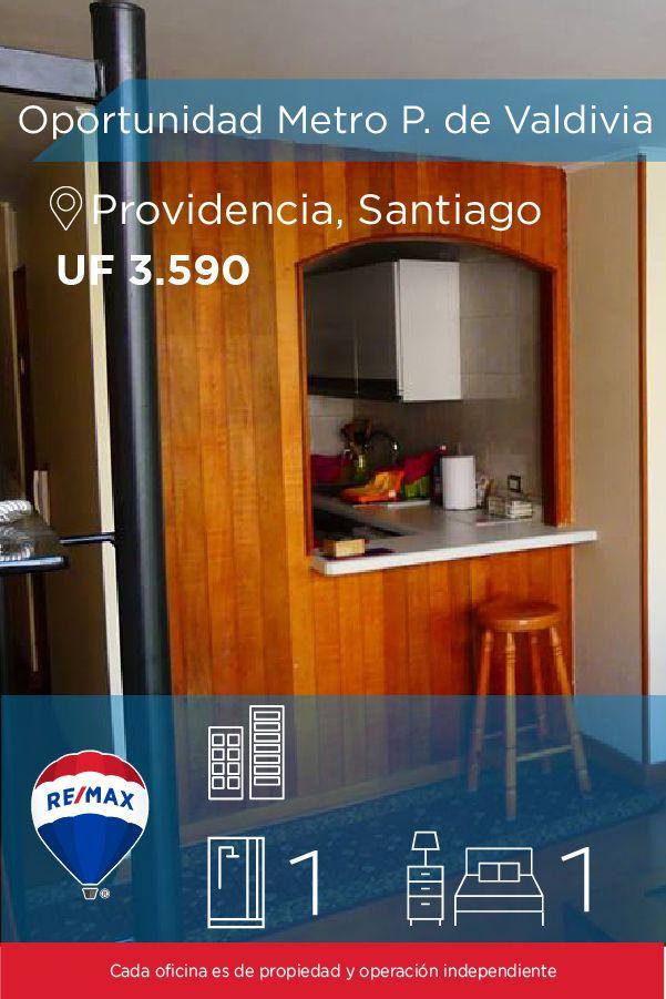 [#Departamento en #Venta] - #Oportunidad 2 #ambientes Metro P. de #Valdivia 🛏:1 🚿:1 #propiedades #inmuebles #bienesraices #inmobiliaria #agenteinmobiliario #exclusividad #asesores #construcción #vivienda #realestate #invertir #REMAX #Broker #inversionis