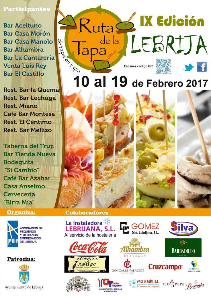 Aprovecha y disfruta de la gastronomía Lebrijana del 10 al 19 de Febrero de 2017 !!