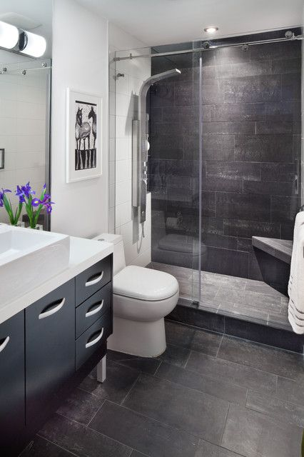 14 best condo bathrooms images on pinterest bathroom - Small full bathroom remodel ideas ...