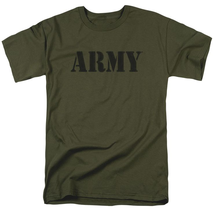 Behold the U.S. Army - Army Adult T-Shirt. Now you can be part of the hype with this military green colored, officially licensed t-shirt made of 100% pre-shrunk cotton. This t-shirt is perfect for a t