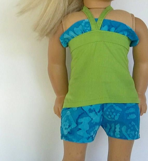Hey, I found this really awesome Etsy listing at https://www.etsy.com/listing/522040289/18-inch-doll-clothes-apple-green-bandeau