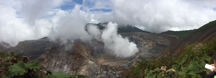 Volcán Poas en Costa Rica