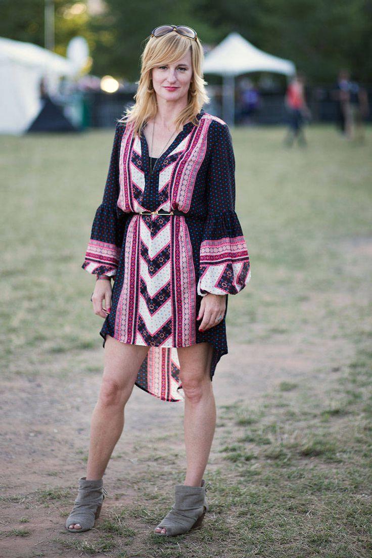 Lollapalooza Music Festival 2013 Street Style - Summer Festival Style - Elle