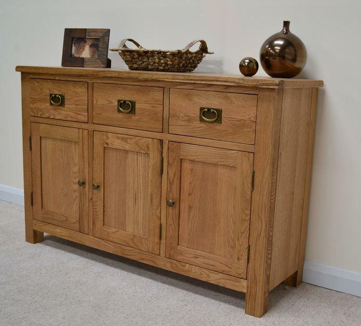 Modern Compact Rustic Oak Large Sideboard Welsh Dresser Http Www