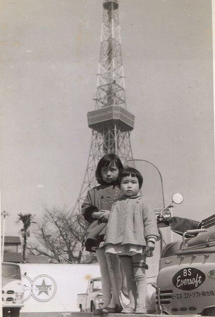 tokyo tower 1960