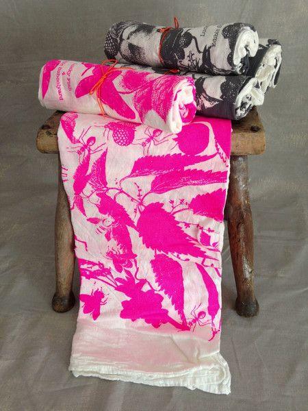 Lucky Fish Dish Towels / Edible School Yard Hostess gift