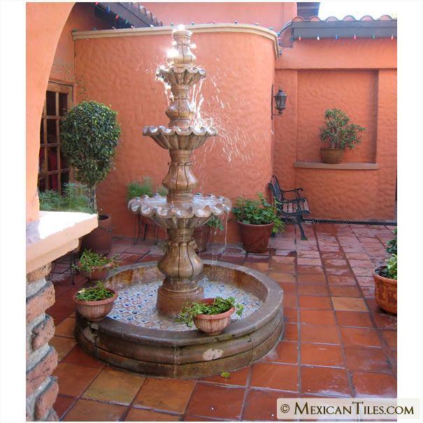 Patio Home Decor: Spanish Mission Decor.