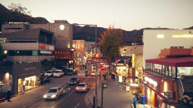 Samcheongdong-gil Road - Jongno-gu in Seoul, South Korea