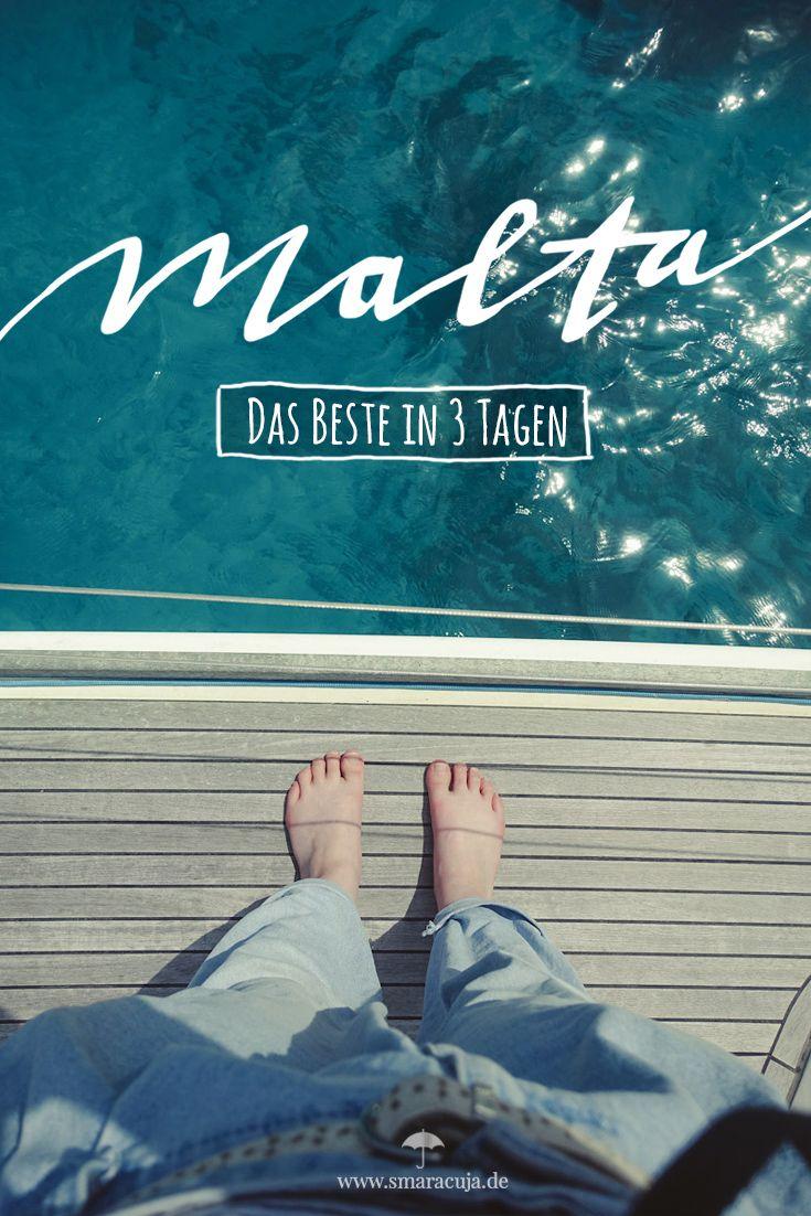 MALTA GUIDE: Die Highlights der Mittelmeerinsel für einen Kurztrip von 3 Tagen oder mehr - Valetta, Mdina, die Blaue Grotte und ein Segeltörn