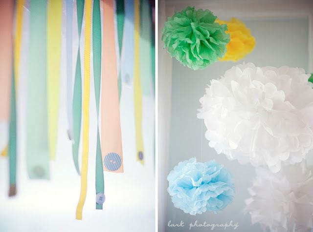 The Lovely Cupboard: Little Mister: A Bow Tie Baby Shower: Shower Ideas, Paper Decor, Ties Baby, Crafts Ideas, Bows Ties, Cute Ideas, Baby Shower Decor, Crepes Paper Streamers, Parties Time