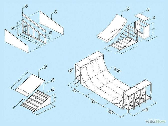 How to Build a Skateboard Ramp: 12 Steps (with Pictures)