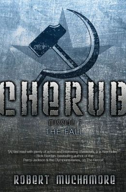 The Fall by Robert Muchamore. Click on the cover to see if the book's available at Otis Library.
