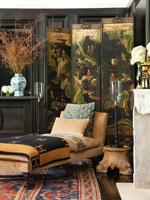 Chinoiserie Chic: 120 Items Every Beautiful Home Should Have - #9 The Chinese screen
