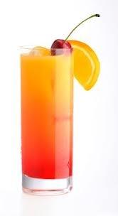 Red Raiinbow Hurricane- My kind of drink!  1 ounce Captain Morgan Parrot Bay Coconut Rum  1 ounce Peach Schnapps  1 ounce Apple Pucker Schnapps  1 ounce Watermelon Pucker Schnapps  2 ounces Orange Juice  2 ounces Cranberry Juice  2 ounces Pineapple Juice