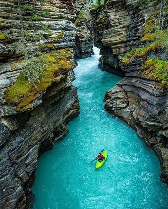 Cheap bathroom wallpaper - Alberta Canada Lac Sport Nature Rocher Kayak D 233 Coration Maison