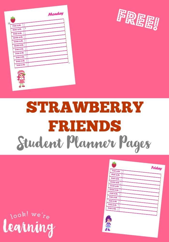 free printables free printables students and organizing