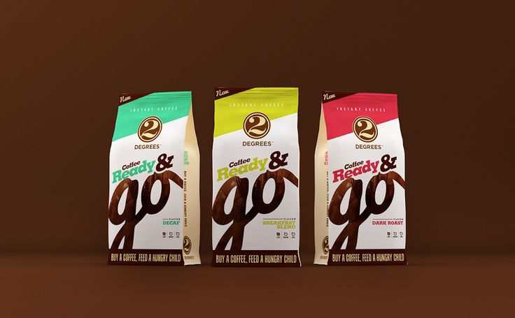 2 Degrees Coffee Ready & Go on Packaging of the World - Creative Package Design Gallery